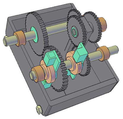 Uni-directional Gear